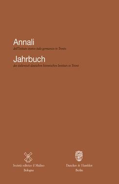 copertina Annali XXXVIII, 2012/2