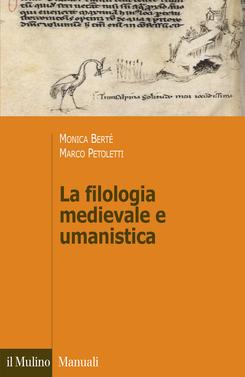 copertina La filologia medievale e umanistica
