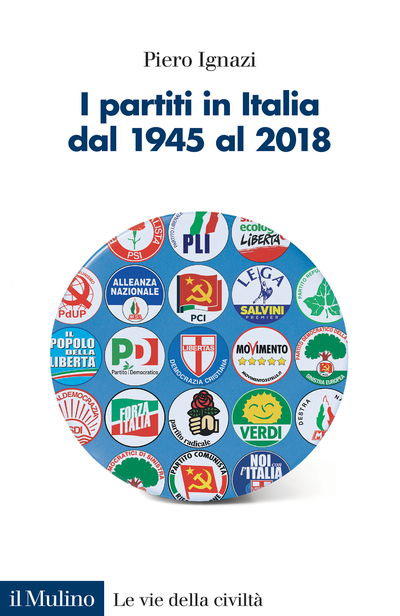 Cover I partiti in Italia dal 1945 al 2018