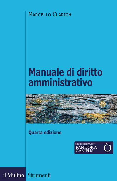 Cover Manuale di diritto amministrativo