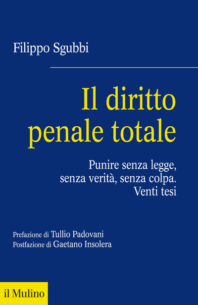 Cover Il diritto penale totale