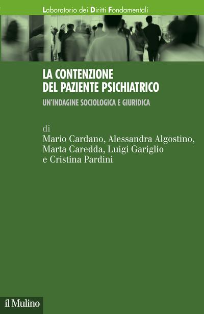 Cover La contenzione del paziente psichiatrico